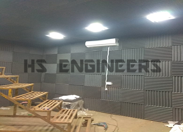 engine acoustic test room supplied in manesar auo company