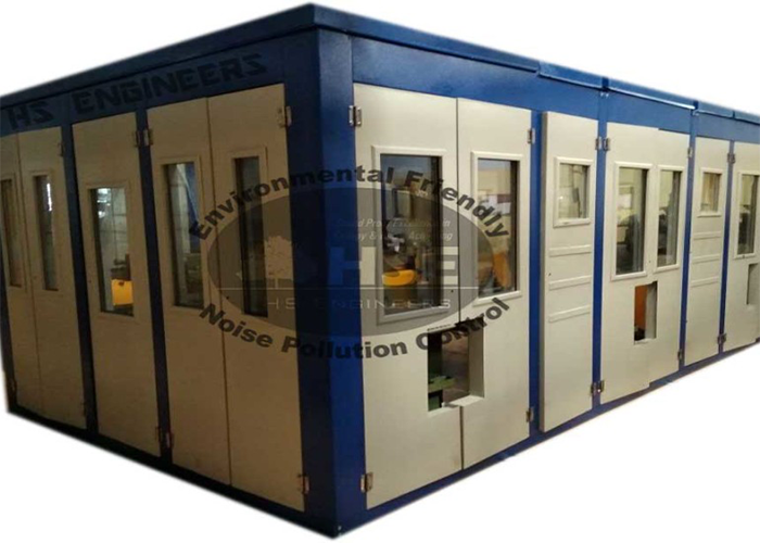 Cutting Machine Soundproof Chamber