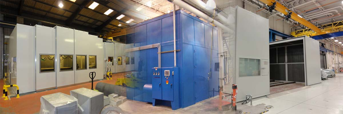 Machine Soundproof Enclosures Manufacturers