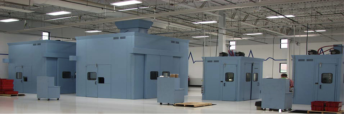 Power Press Soundproof Enclosures Manufacturers