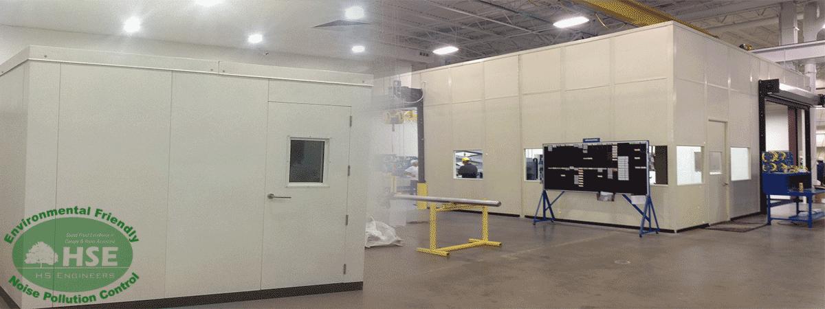 Mechanical Press Soundproof Enclosures