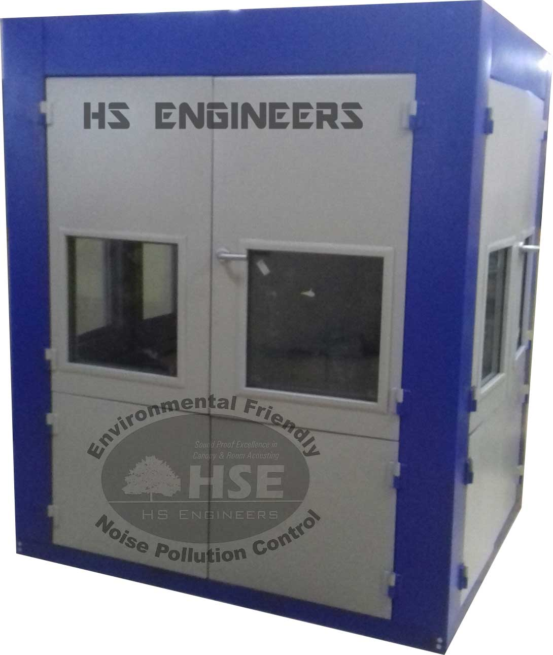 Grinding Machine Acoustic Enclosure
